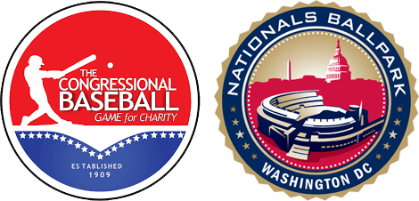 Congressional Baseball Game Logos